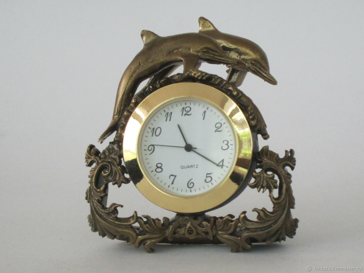 Electronic table clock ' with dolphins', Watch, Yaroslavl,  Фото №1