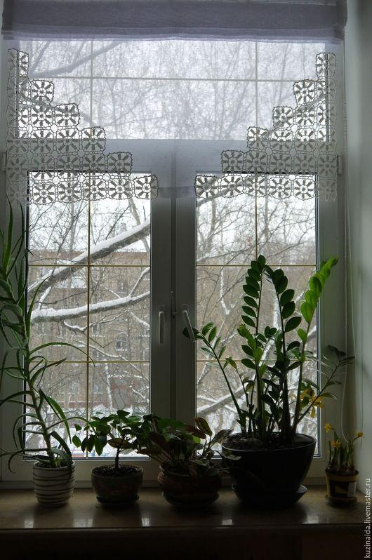 Текстиль, ковры ручной работы. Ярмарка Мастеров - ручная работа. Купить а старушка в это время мыла фикус на окне. Handmade.