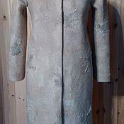 """Одежда ручной работы. Ярмарка Мастеров - ручная работа Пальто из войлока """"Белоснежка"""". Handmade."""
