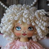Куклы и игрушки ручной работы. Ярмарка Мастеров - ручная работа Интерьерная текстильная кукла Ангел Мила.. Handmade.