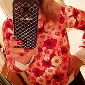 Одежда ручной работы. Ярмарка Мастеров - ручная работа Кофточка с Розами. Handmade.