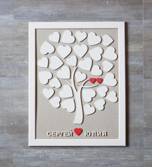 Дерево пожеланий на свадьбу. Идея на свальбу. Подарок на свадьбу. #TwinsWood