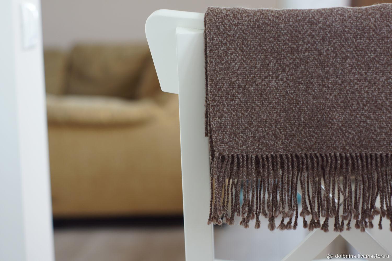 Мужской шарф домотканый Brown melange, Шарфы, Липецк,  Фото №1