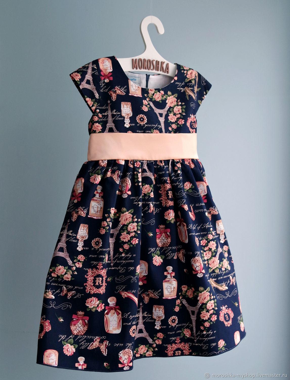 Платье нарядное детское Париж
