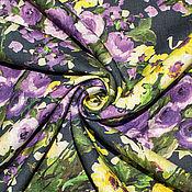 Материалы для творчества ручной работы. Ярмарка Мастеров - ручная работа Лен  РОЗЫ  NINA RICCI. Handmade.