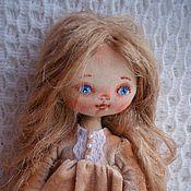 Куклы и игрушки ручной работы. Ярмарка Мастеров - ручная работа Лея, текстильная кукла. Handmade.
