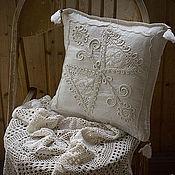 Винтаж ручной работы. Ярмарка Мастеров - ручная работа Чехол на подушку Птица Счастья. Handmade.