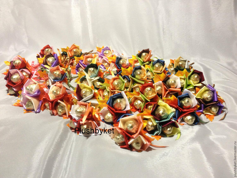 Микро букет из конфет, Букеты, Москва,  Фото №1