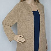 Одежда handmade. Livemaster - original item Cardigan is an Angora-Merino