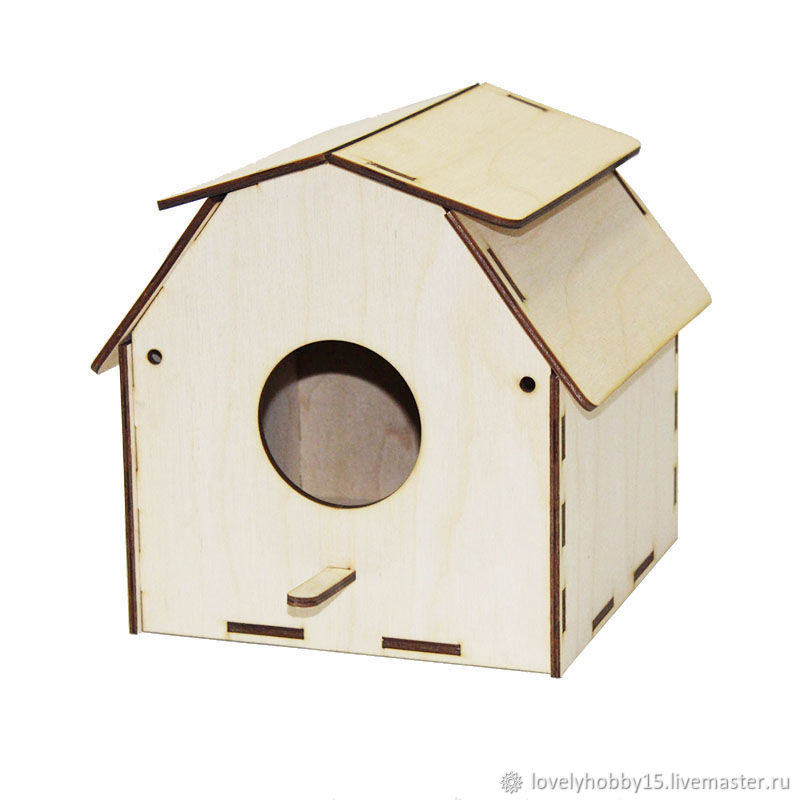Birdhouse №15, Bird feeders, Moscow,  Фото №1