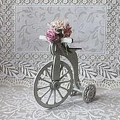 """Куклы и игрушки ручной работы. Ярмарка Мастеров - ручная работа Интерьерная игрушка """"Ретро-велосипед"""".. Handmade."""