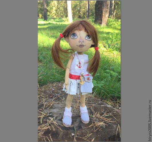Коллекционные куклы ручной работы. Ярмарка Мастеров - ручная работа. Купить Палома. Handmade. Белый, кукла интерьерная, кукла для женщины
