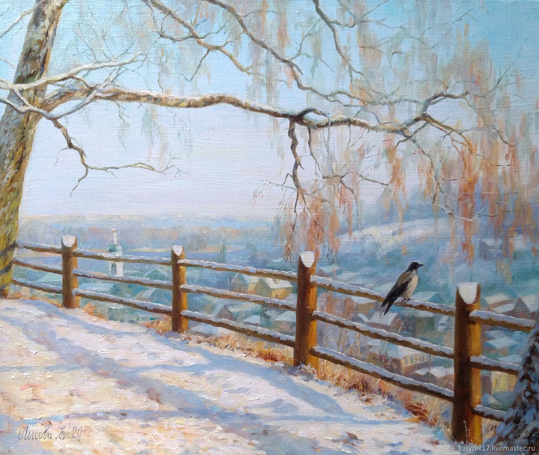 Winter spaces, Pictures, Cheboksary,  Фото №1