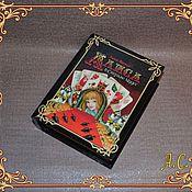 Для дома и интерьера ручной работы. Ярмарка Мастеров - ручная работа Шкатулка-книга. Handmade.
