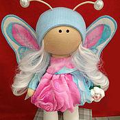 Куклы и пупсы ручной работы. Ярмарка Мастеров - ручная работа Кукла - бабочка Неженка. Handmade.