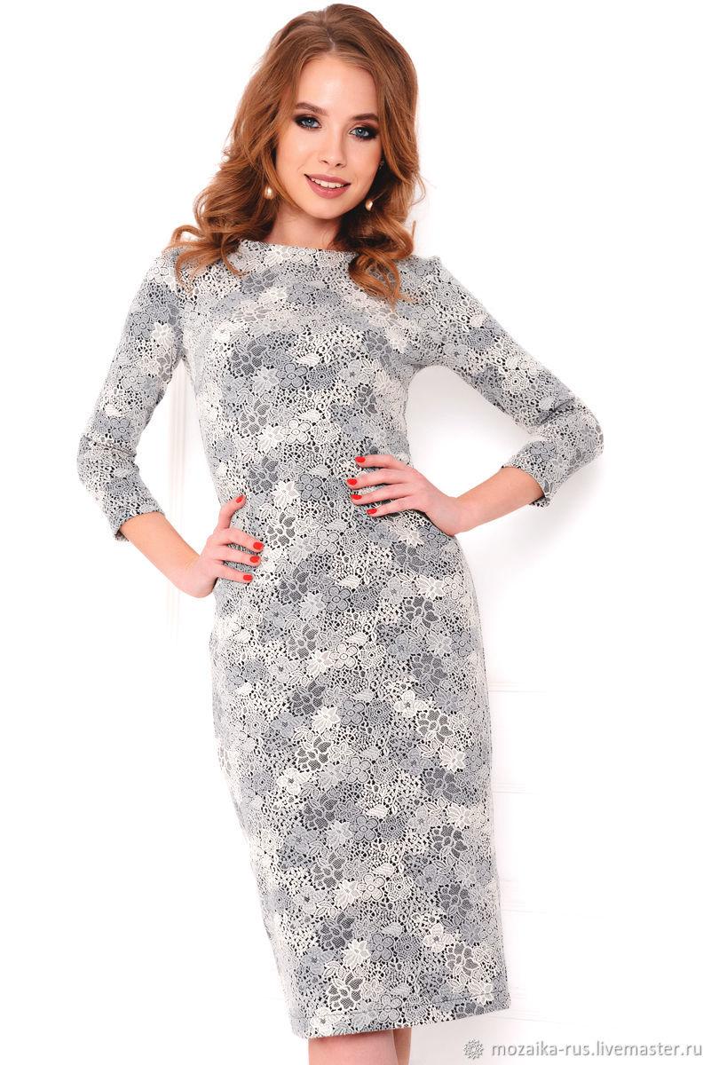 987f2aa3a6c Интернет- Платья ручной работы. Заказать Платье из хлопкового жаккарда