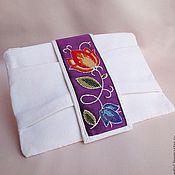 Сумки и аксессуары handmade. Livemaster - original item Handbag-bow ENGLISH LADY cotton, beads. Handmade.
