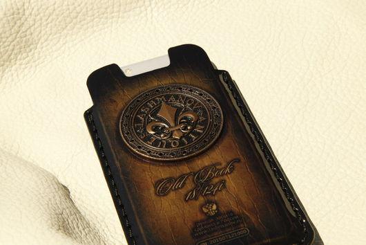 Для телефонов ручной работы. Ярмарка Мастеров - ручная работа. Купить Чехол для  iPhone 7/plus/ 6/6s/6 plus c Орденом Бронзовой Лилии № 124. Handmade.