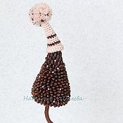 Подарки к праздникам ручной работы. Ярмарка Мастеров - ручная работа Елочка из кедровых орешков. Handmade.