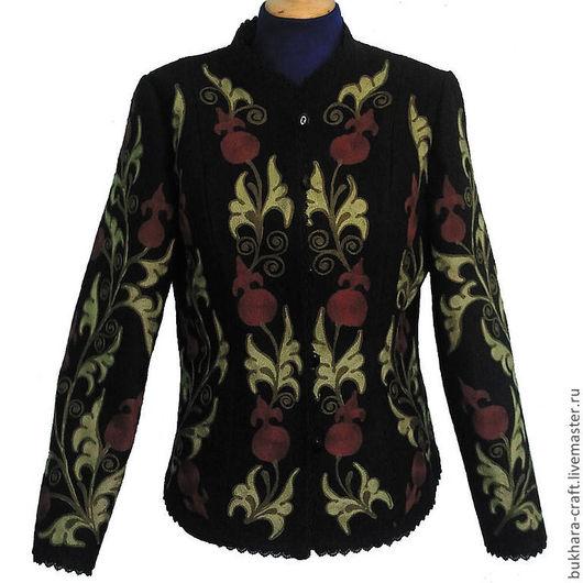 Пиджаки, жакеты ручной работы. Ярмарка Мастеров - ручная работа. Купить Жакет 14. Handmade. Жакет, сюртук, осенняя мода
