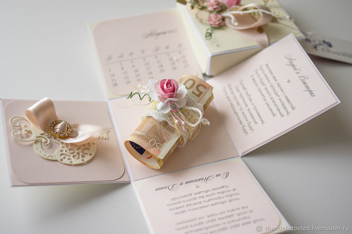 Handmade Card Box Wedding Birthday