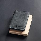Канцелярские товары handmade. Livemaster - original item Cover for auto documents / / / KIA. Handmade.