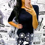 Платья ручной работы. Ярмарка Мастеров - ручная работа 42 размер Платье-футляр Черное. Handmade.