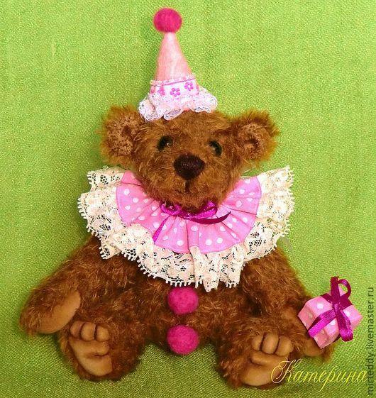 Мишки Тедди ручной работы. Ярмарка Мастеров - ручная работа. Купить Медведь. Клоун Клёпа. Handmade. Мишка-клоун, комфорель