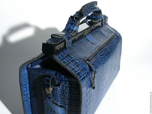 Женские сумки ручной работы. Ярмарка Мастеров - ручная работа. Купить Кожаный саквояж от Vad Us. Handmade. Vad us