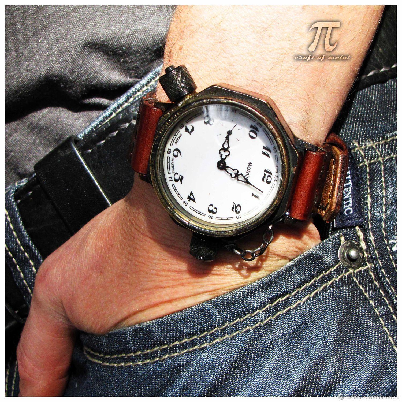 Petroglif m6w mechanical illuminated watch, Watches, Stavropol,  Фото №1