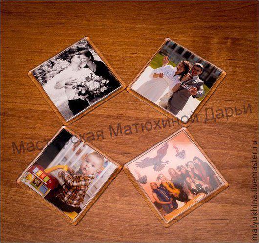 Люди, ручной работы. Ярмарка Мастеров - ручная работа. Купить Магнитики с вашими фотографиями. Handmade. Магнит, акрил, магниты