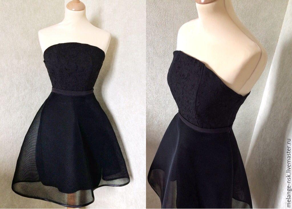 Купить платье с юбкой сеткой
