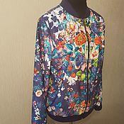 Одежда ручной работы. Ярмарка Мастеров - ручная работа Бомбер (летняя куртка, блузон). Handmade.