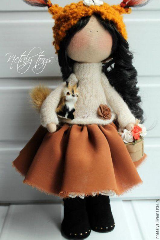 Коллекционные куклы ручной работы. Ярмарка Мастеров - ручная работа. Купить Куколка Белка. Handmade. Комбинированный, кукла ручной работы