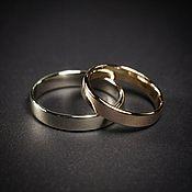 Свадебный салон ручной работы. Ярмарка Мастеров - ручная работа Обручальные кольца простые. Handmade.