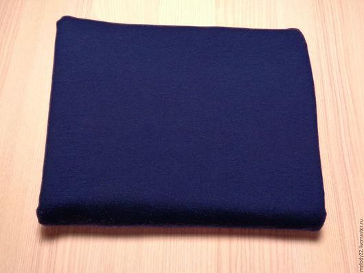 """Шитье ручной работы. Ярмарка Мастеров - ручная работа. Купить Футер 2-х нитка с/л """"Синий"""".. Handmade. Синий"""