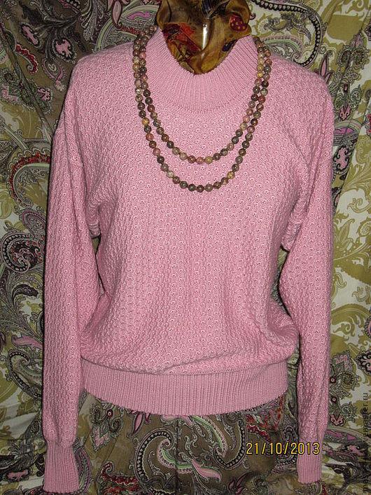 """Кофты и свитера ручной работы. Ярмарка Мастеров - ручная работа. Купить Джемпер """"Розовая пантера"""". Handmade. Розовый, удобный, универсальный"""