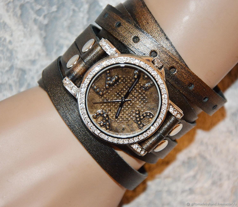 38fbc81ce573 Наручные часы ручной работы. Ярмарка Мастеров - ручная работа. Купить  Женские наручные часы ...