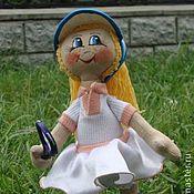 Куклы и игрушки ручной работы. Ярмарка Мастеров - ручная работа кукла Теннисистка. Handmade.
