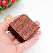 handmade. Livemaster - original item Wooden ring case. Handmade.