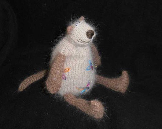 Игрушки животные, ручной работы. Ярмарка Мастеров - ручная работа. Купить Котэ сиамское в цветочек. Handmade. Кот, необычный подарок