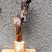 Для дома и интерьера handmade. Livemaster - original item Interior sculpture Parrot. Handmade.