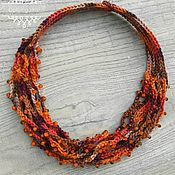 Украшения handmade. Livemaster - original item Beads crocheted beads