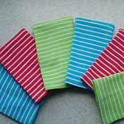 Куклы и игрушки ручной работы. Ярмарка Мастеров - ручная работа Яркие полосатые шапочки для беби бон и беренжер. Handmade.