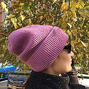 """Аксессуары ручной работы. Ярмарка Мастеров - ручная работа Шапка женская вязаная """"бини"""". Handmade."""