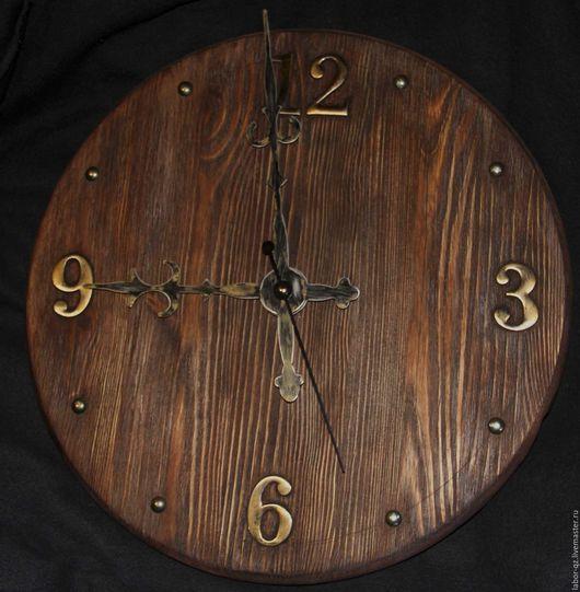 Фотокартины ручной работы. Ярмарка Мастеров - ручная работа. Купить Часы..Старое дерево... Handmade. Старое дерево, латунь, металл