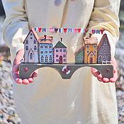 """Для дома и интерьера ручной работы. Ярмарка Мастеров - ручная работа Морская композиция """"Bridgetown/Бриджтаун"""" driftwood. Handmade."""