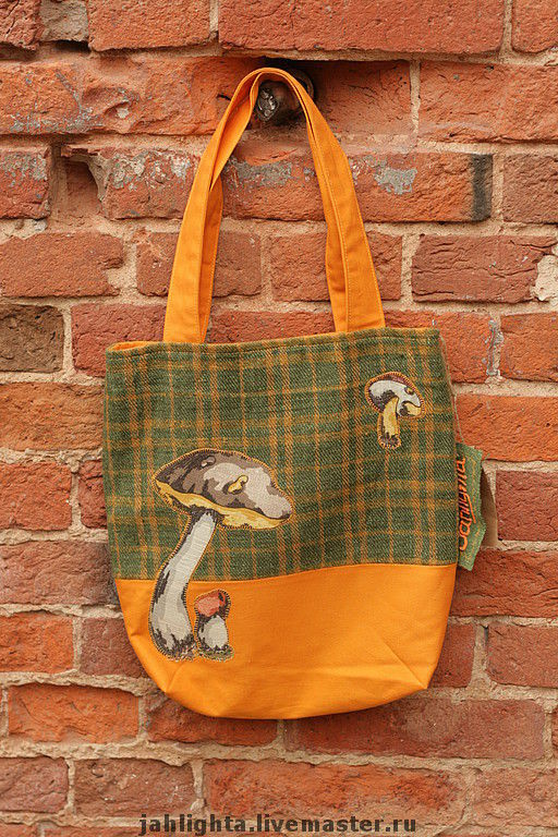 Bags & Accessories handmade. Livemaster - handmade. Buy Eco-bag 'Aspen'.Cotton