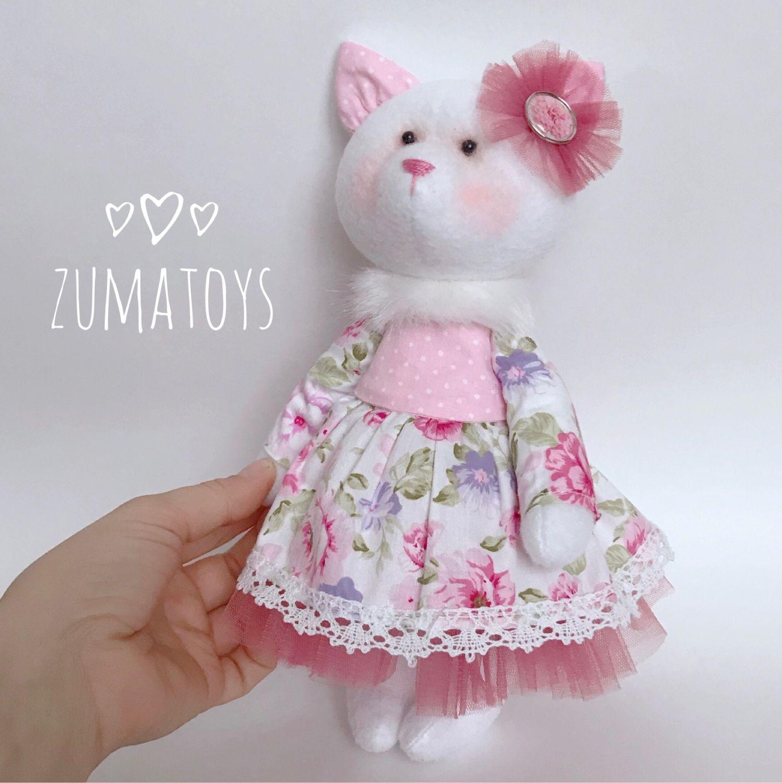 Кошечка, Мягкие игрушки, Зеленоград,  Фото №1