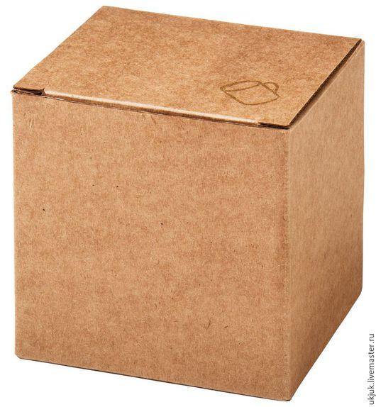 Кружки и чашки ручной работы. Ярмарка Мастеров - ручная работа. Купить Коробка для кружки. Handmade. Коричневый, кружка в подарок
